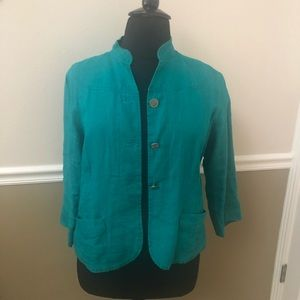 Chico's linen jacket - size 3